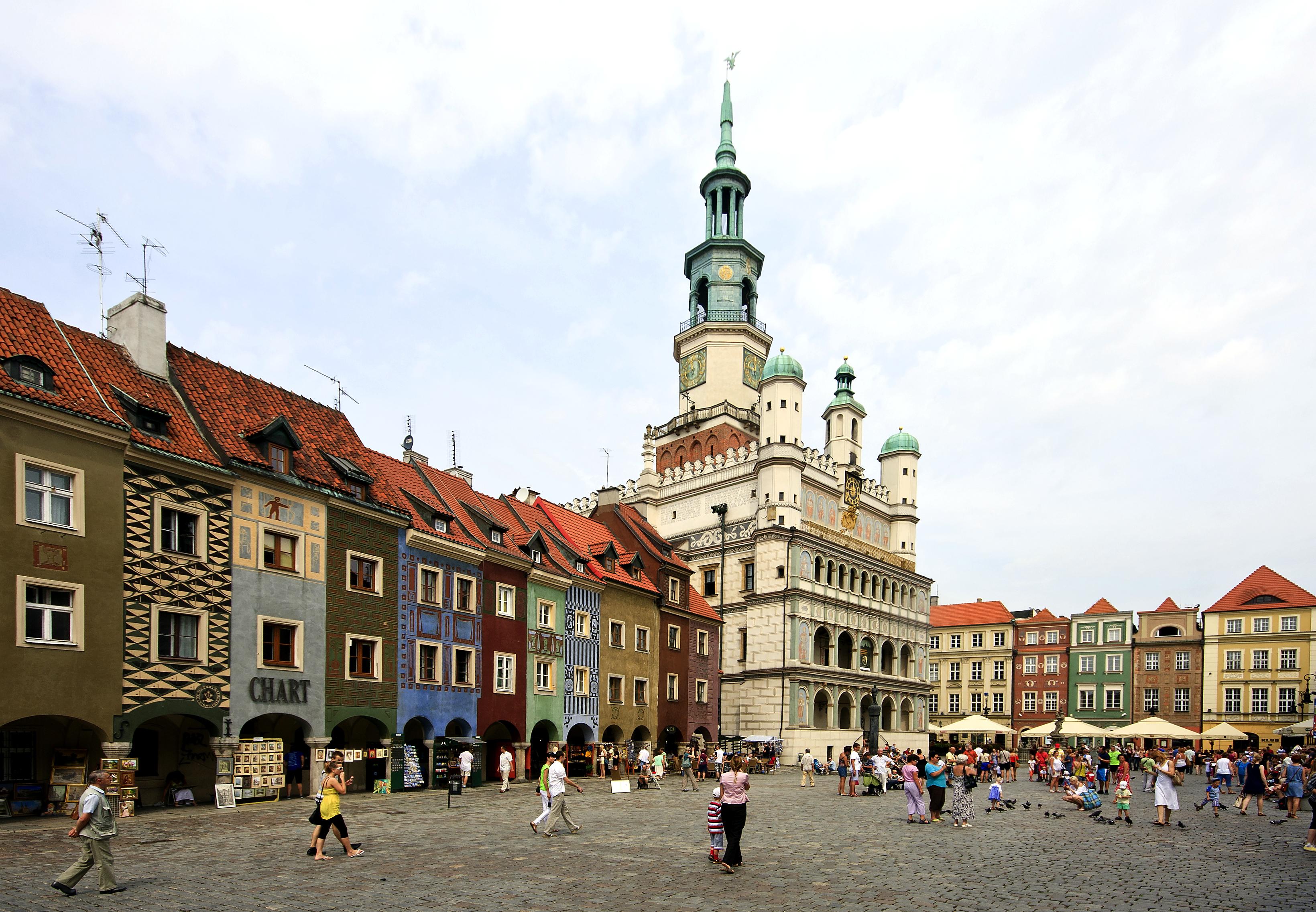 Rådhuset i Poznan